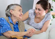 Prendre en charge une personne âgée