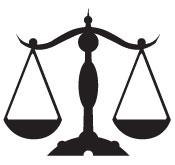 Le poids dans la balance de la justice