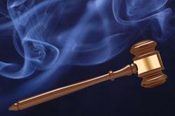 La justice et le tabac