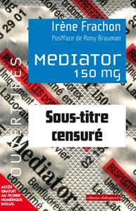 Couverture censurée du livre Mediator 150 mg - Combien de morts ?