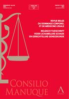 Revue belge du dommage corporel et de médecine légale