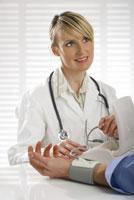 Un médecin au travail