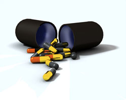 Des médicaments en or